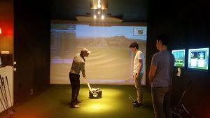 Aanleren de perfecte golfswing op golfsimulator