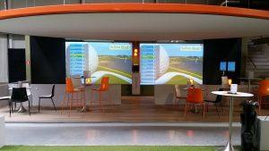 Golfsimulatoren Indoorgolf Hole in One Maldegem